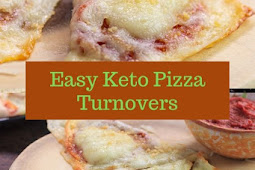 Easy Keto Pizza Turnovers