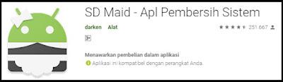 aplikasi SD Maid di Playstore