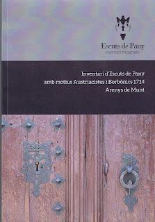 Escuts de Pany Austriacistes i Borbònics Arenys de Munt