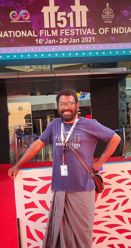 Arun Punalur at 51st International Film Festival of India (IFFI)