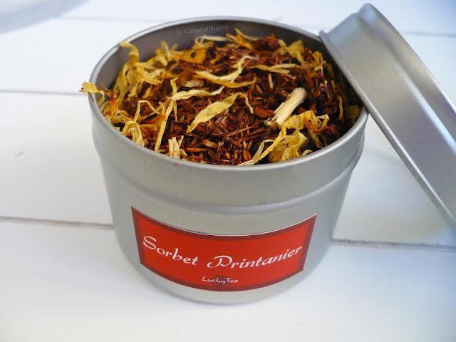 thé sorbet printanier