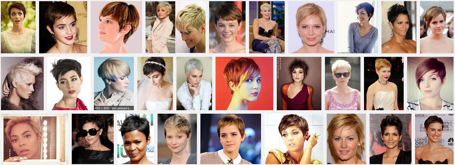 Gaya Rambut Pendek Keriting Wanita