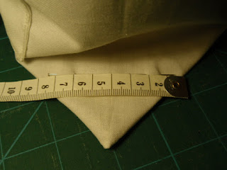 Measurements for boxing corners - Tiny Tote
