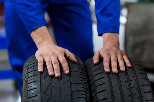 used car tyre