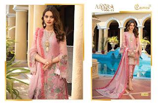 Cosmos Aayra vol 15 Pakistani Suit and salwar Kameez