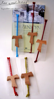 segnalibro regalo catechiste ciondolo tau