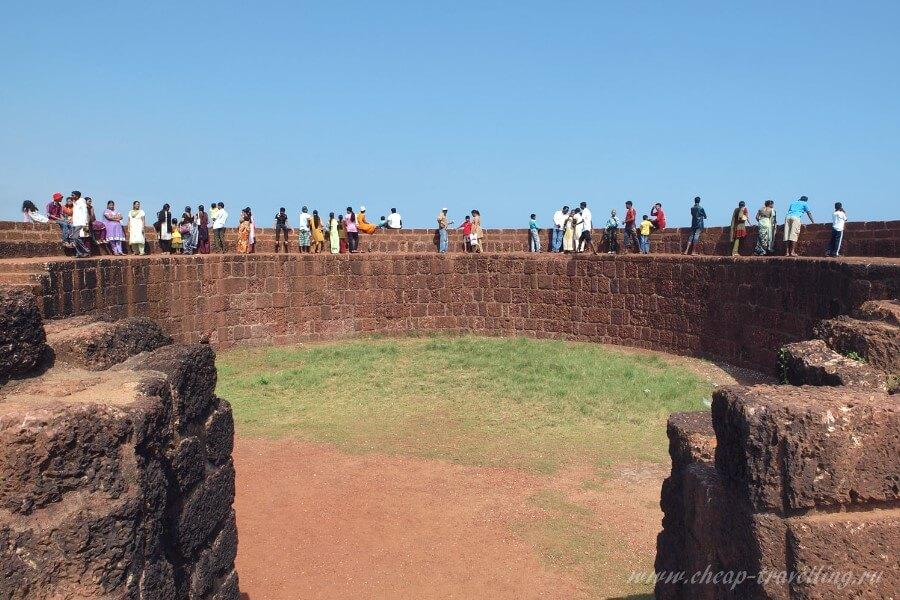 Виды форта Агуада