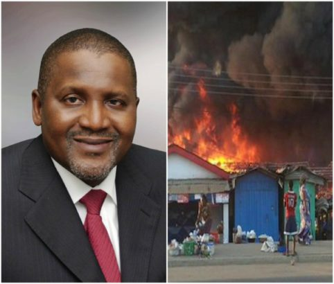 Kano State Market Fire Disaster
