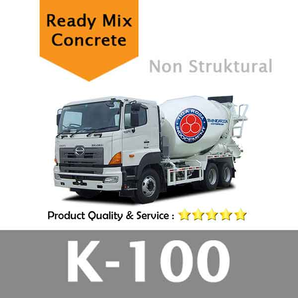 Harga Beton Cor Mutu K 100