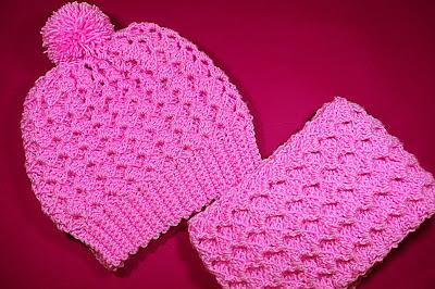 4 - Crochet Imagen Conjunto de gorro y bufanda a crochet y ganchillo por Majovel Crochet