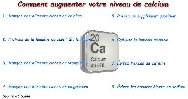 Comment augmenter votre niveau de calcium
