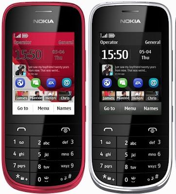 Nokia Asha 203 Phone