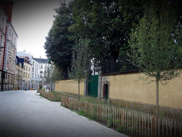 La rue des Francs-Bourgeois : un peu triste encore pour le moment... (23 Août 2020)
