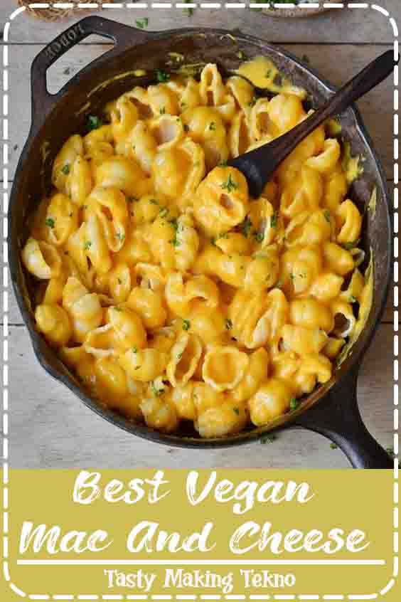 This healthy vegan Mac and Cheese recipe is so easy to make and contains only plant-based whole-food ingredients. It can be eaten with regular pasta or zucchini noodles (zoodles) if you prefer a paleo version