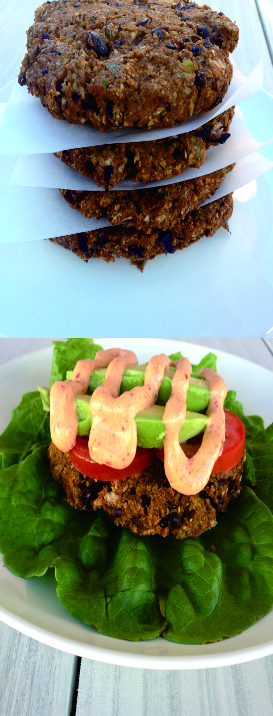 BLACK BEAN BURGERS HEALTHY RECIPE