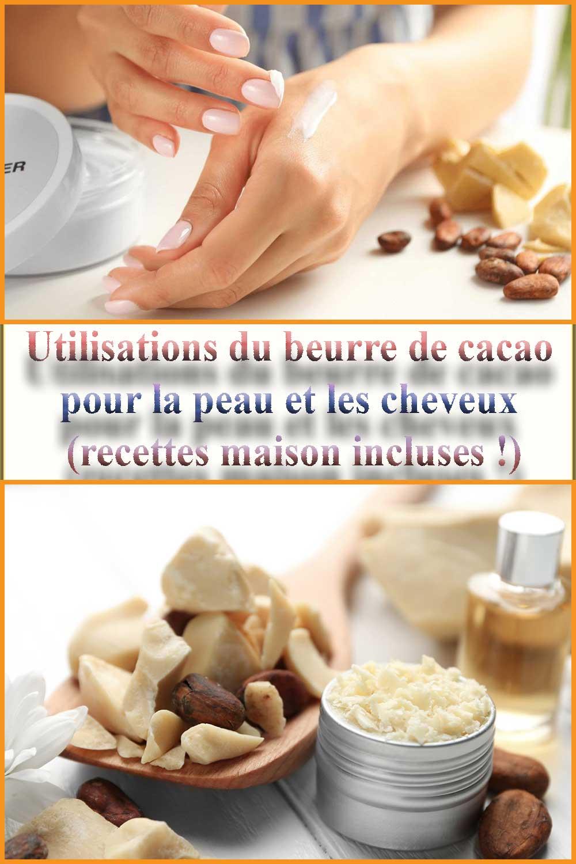 Utilisations du beurre de cacao pour la peau et les cheveux