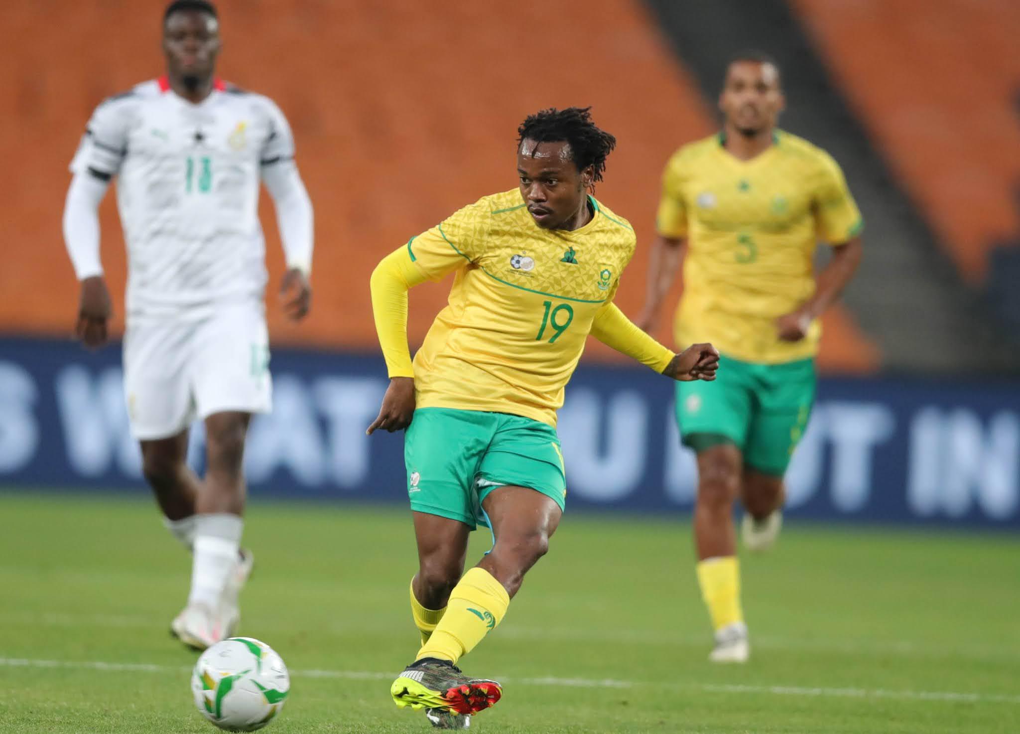 South African midfielder Percy Tau