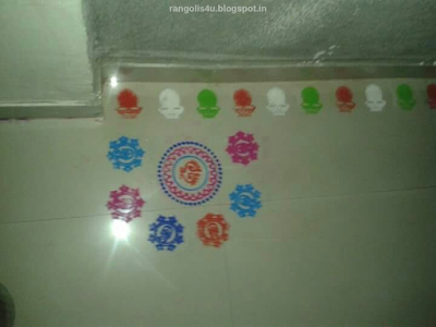 Rangolis for Deepawali