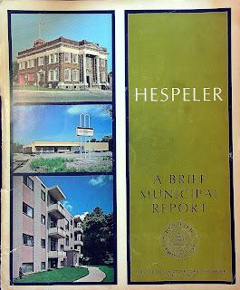 1969 Hespeler Municipal Report