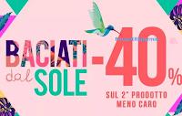 Logo Pittarello ''Baciati dal sole'': meno 40% sul 2° prodotto meno caro ma solo per 3 giorni