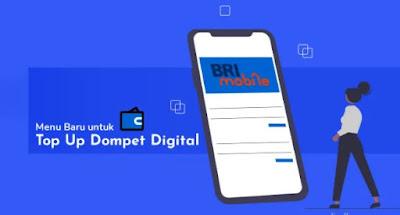 Top Up Dompet Online Kian Mudah Lewat Brimo