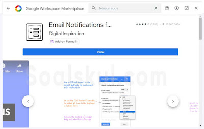 add-on Email Notification