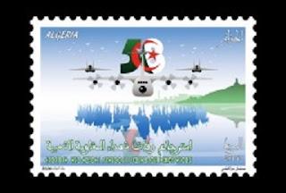 الجزائرـ وزارة البريد الجزائرية، طابع بريدي، رفات قادة المقاومة، حربوشة نيوز