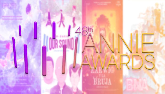 Animes nominados 48 Annie Awards