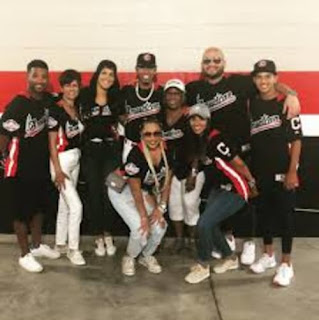 Francisco Lindor With His Friends