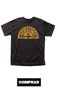Sun Records Camiseta para hombre