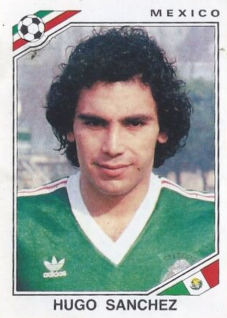 Figurina Hugo Sanchez Messico '86