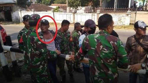 Preman di Garut Serang Markas TNI dan Polri