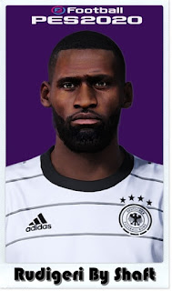 PES 2021 Faces Antonio Rüdiger by Shaft
