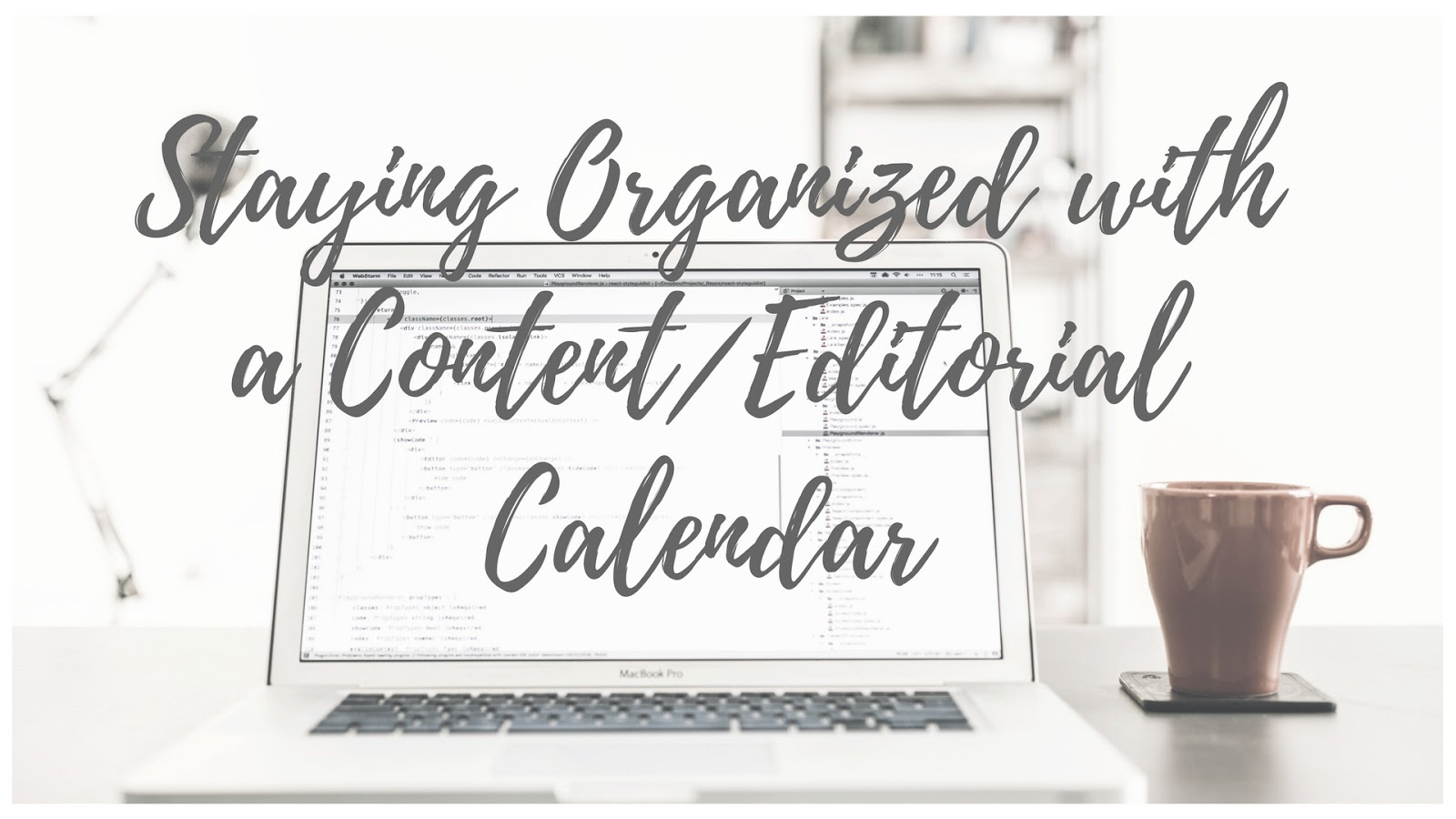 Why should you use a content calendar for your blog?