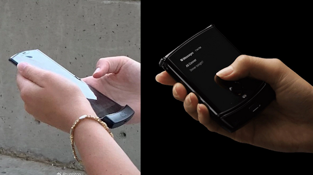 Motorola Razr 2019 Live Image Leaked