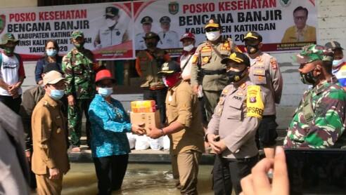 Hadapi Dampak Banjir, Gubernur Instruksikan Siapkan Posko Kesehatan