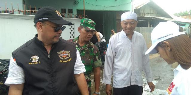 Aksi Kemanusiaan HDCI Jakarta Barat Peduli Banjir