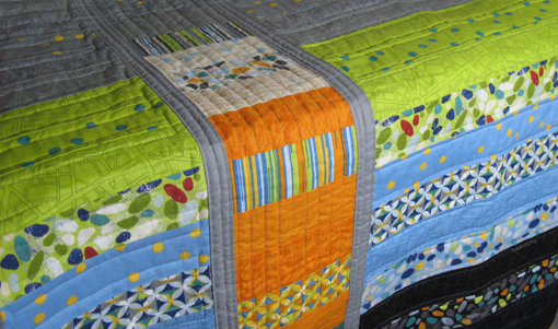 Barcelona Strip and Flip Quilt ~ Threading My Way