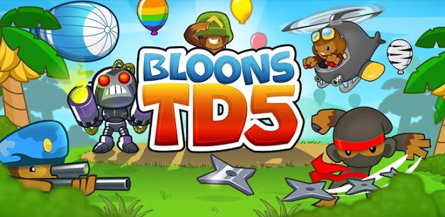 Download Bloons TD 5 Apk + Data