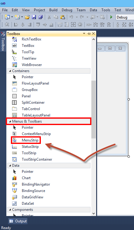 How To Add A Fully Functional Toolbar To Your VB NET Application