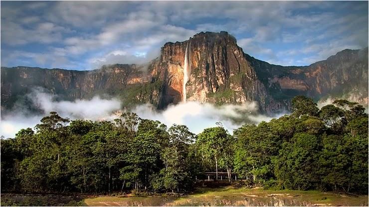 Самый крупный водопад в мире ТОП