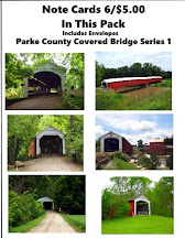 Note Card - Covered Bridge Series 2 - Park County Covered Bridges