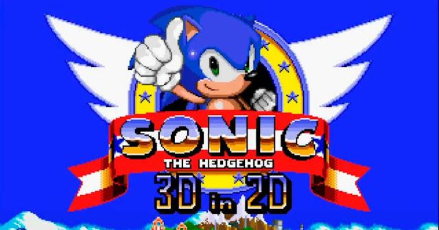 Descargar Sonic 2D in 3D
