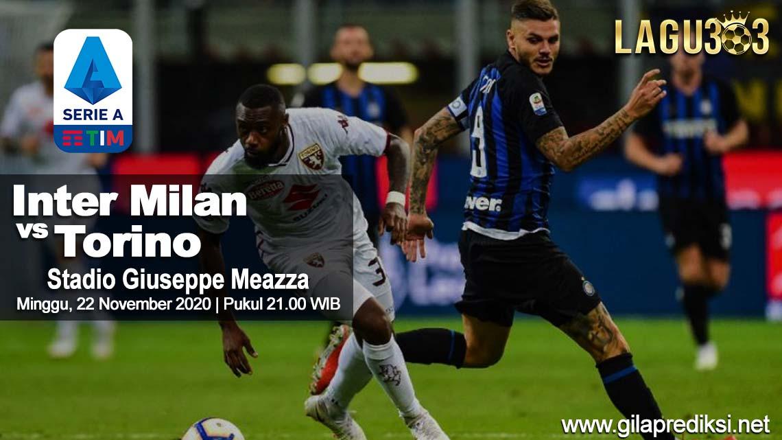 Prediksi Inter Milan vs Torino 22 November 2020 pukul 21.00 WIB