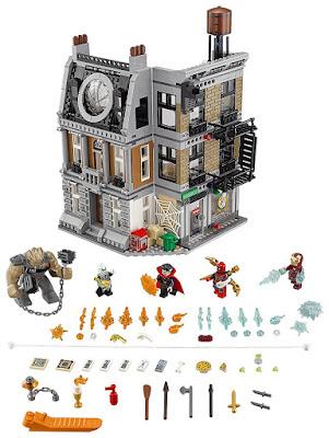 Toys : juguetes - LEGO Super Heroes Los Vengadores | Avengers Infinity War 76108 Duelo en el Sancta Sanctorum  Película 2018 | Juego de Construcción | Piezas: 1004 | Edad: 8-14 años  COMPRAR ESTE JUGUETE EN AMAZON ESPAÑA