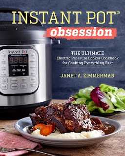 Instant Pot Obsession: The Ultimate Electric Pressure Cooker Cookbook for Cooking Everything Fast  cover