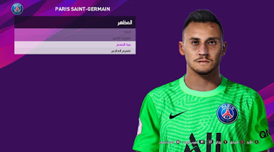 PES 2020 Faces Keylor Navas by So PES