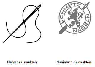 Naalden voor naaimachine, overlockmachine en coverlock, maar ook voor naaien met de hand