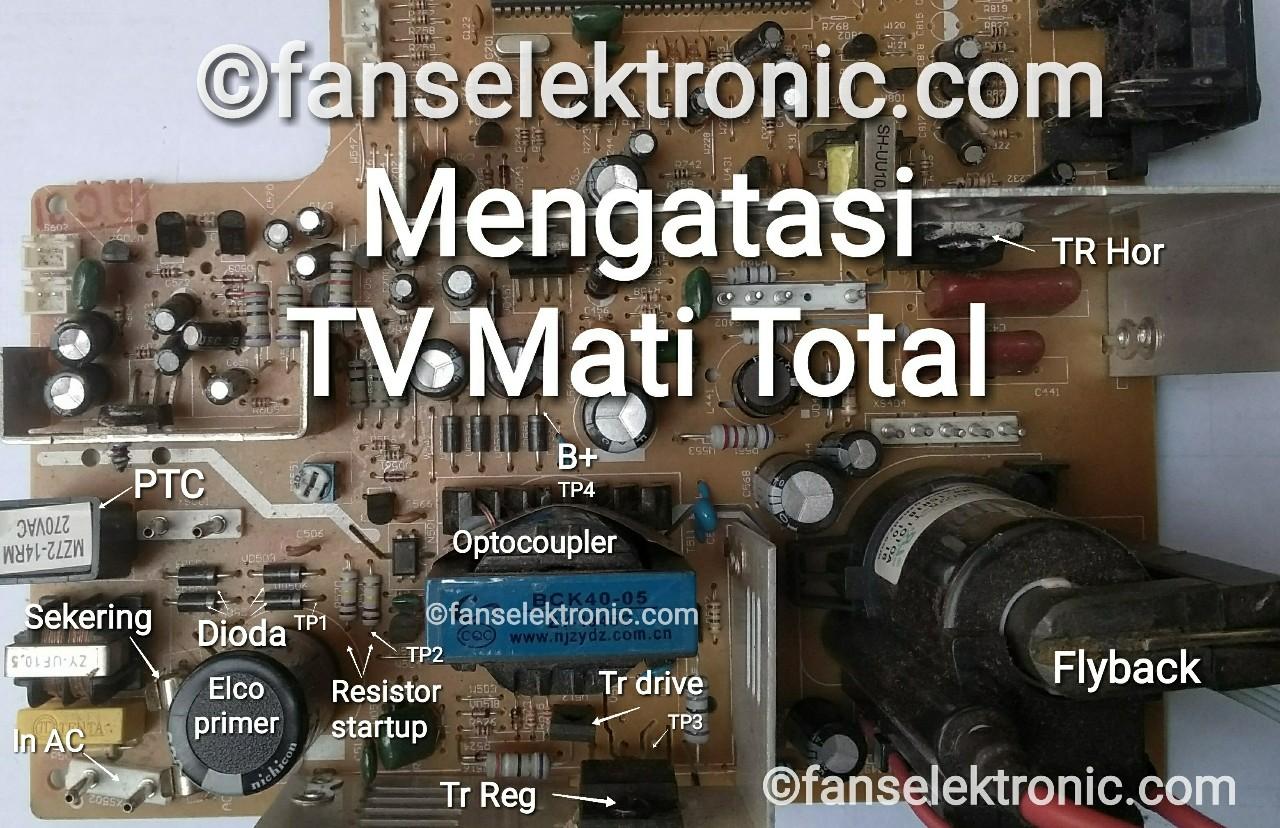 Mengatasi TV Mati Total