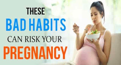 Habits to avoid during pregnancy